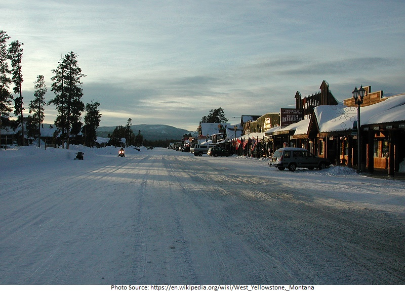 tourist attractions in West Yellowstone