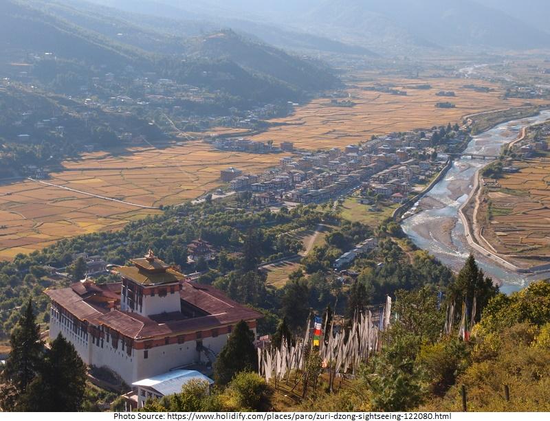 tourist attractions in Zuri Dzong Fort