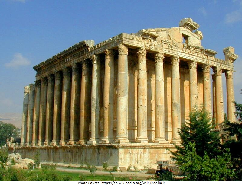 tourist attractions in Baalbek