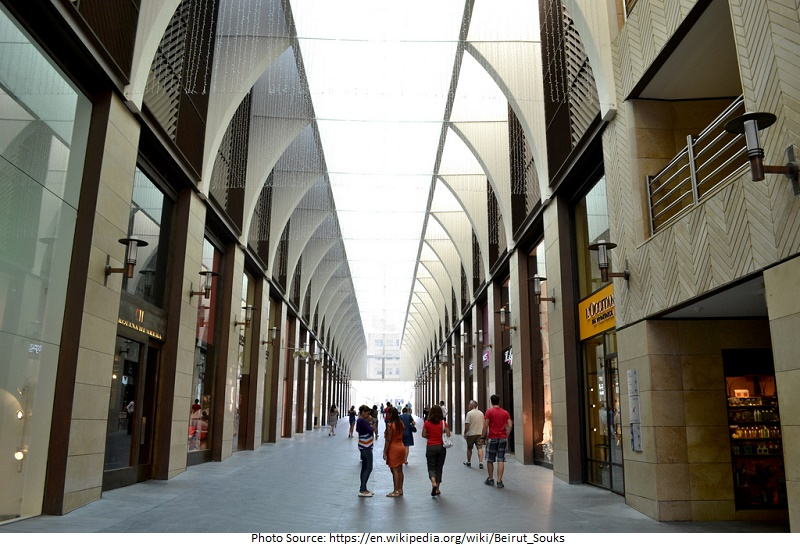 tourist attractions in Beirut Souks