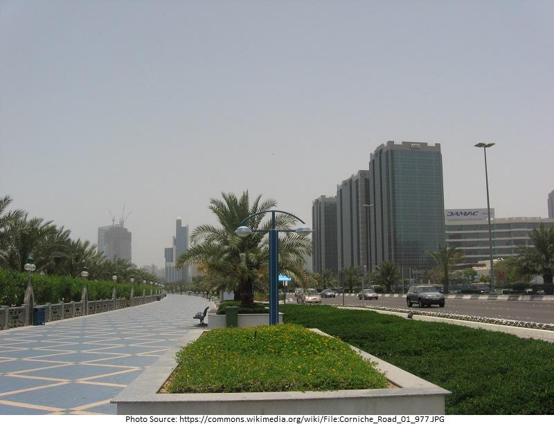 tourist attractions in Corniche Road