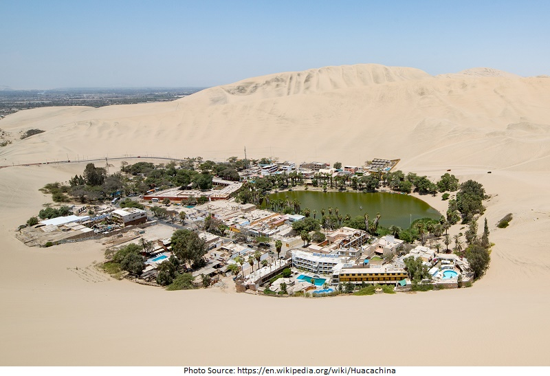 tourist attractions in Huacachina