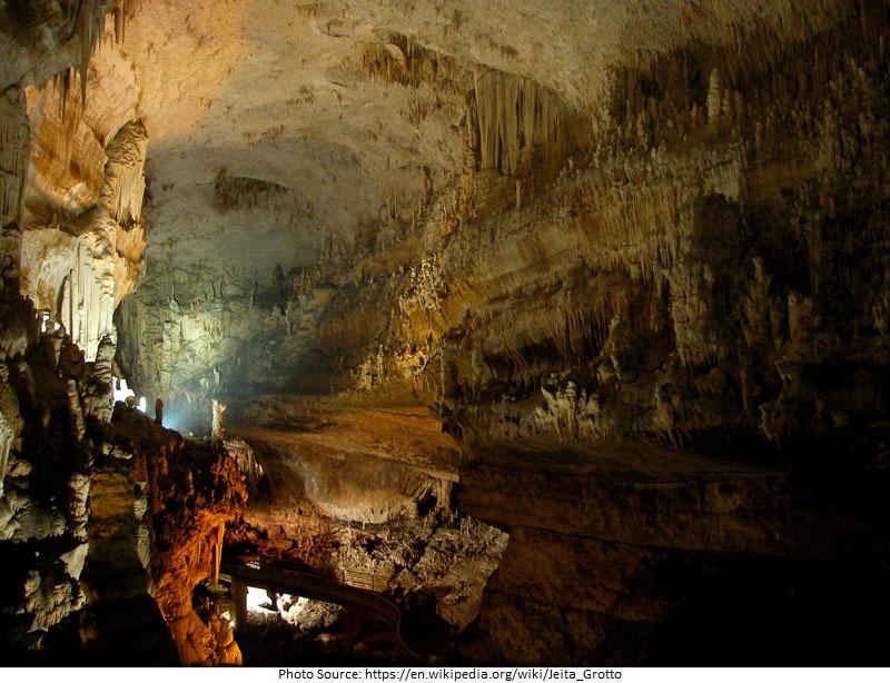 tourist attractions in Jeita Grotto