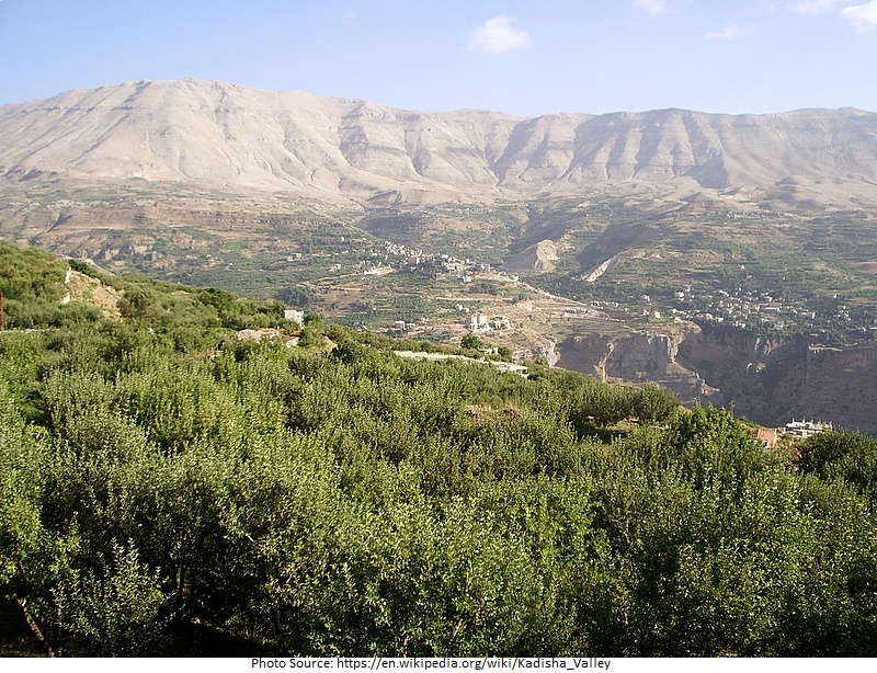 tourist attractions in Kadisha Valley