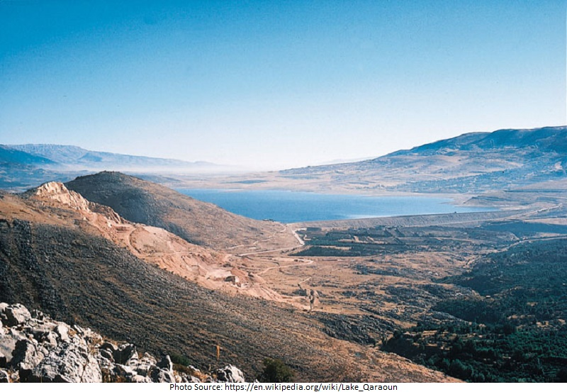 tourist attractions in Lake Qaraoun