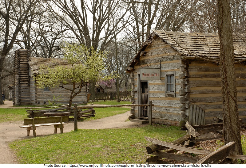 tourist attractions in Lincoln's New Salem