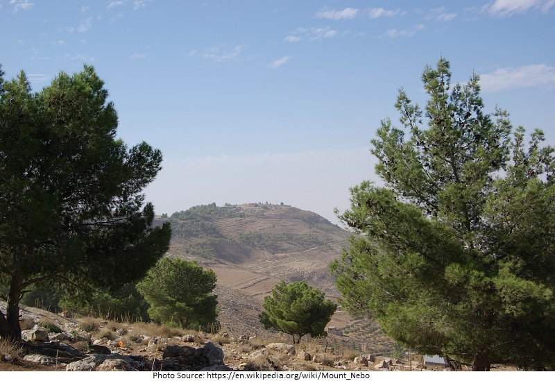 tourist attractions in Mount Nebo
