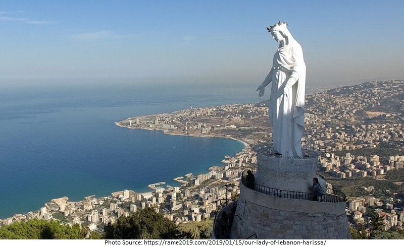 tourist attractions in Our Lady of Lebanon