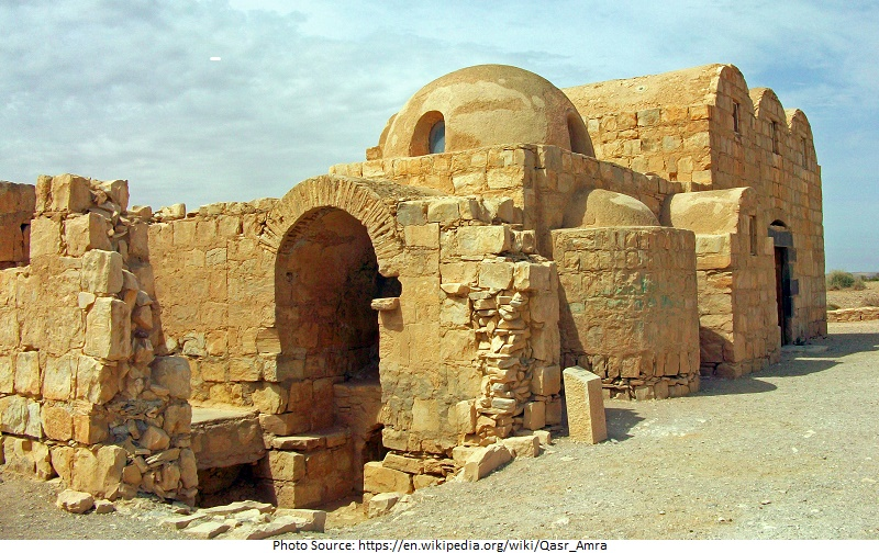 tourist attractions in Qasr Amra