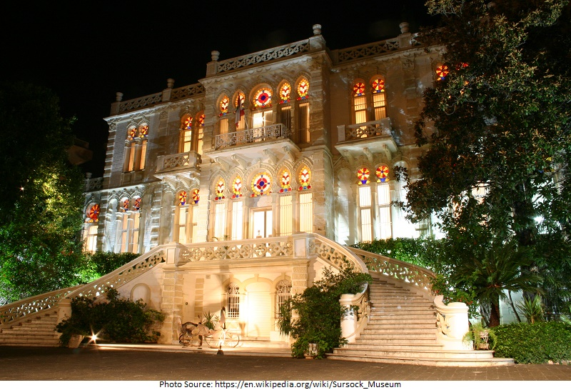 tourist attractions in Sursock Museum