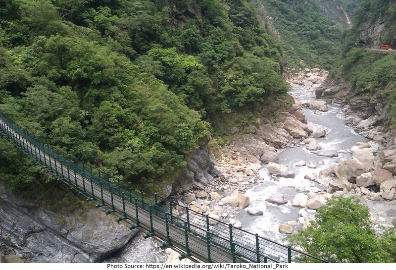 tourist attractions in Taroko National Park