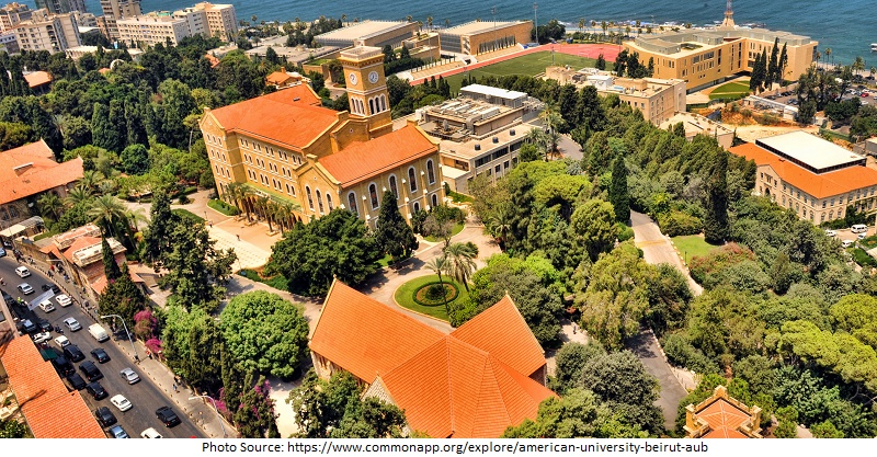 tourist attractions in The American University of Beirut(AUB)